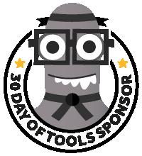 30 Days of Tools Black Belt Sponsor 2021