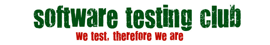 Very old Software Testing Club Logo
