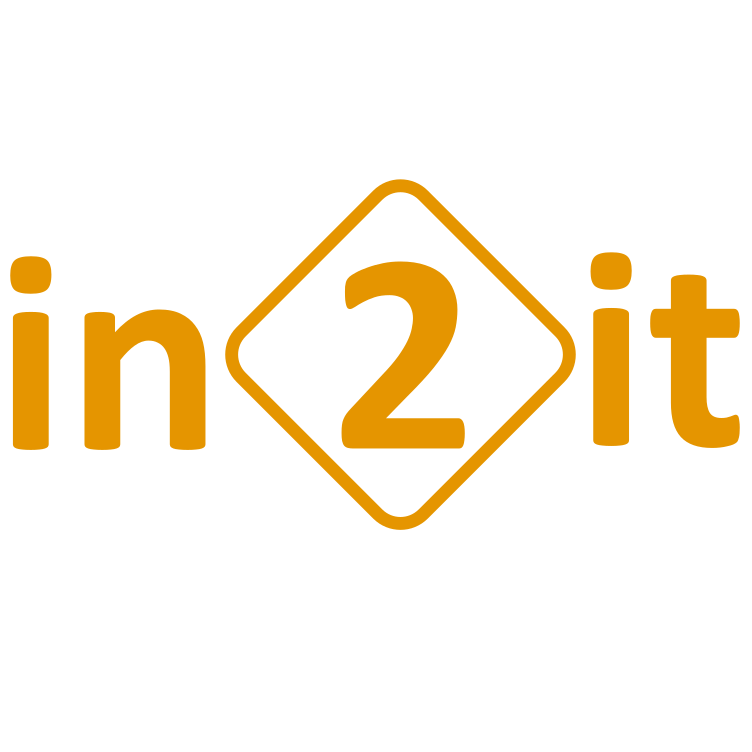 In2it logo orange square