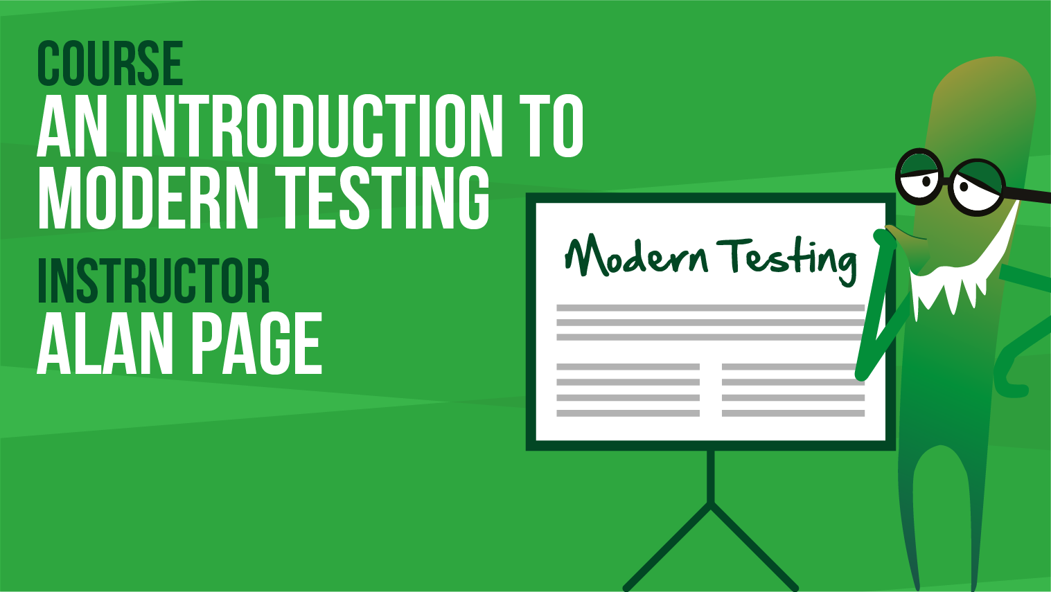 Introduction To Modern Testing - Alan Page
