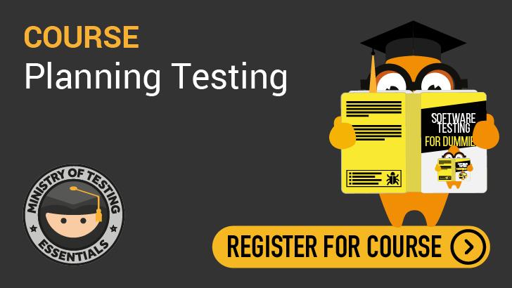 Essentials - Planning Testing