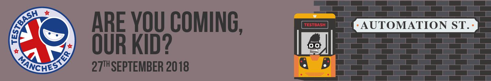 Testbash manchester 2018 dojo event banner