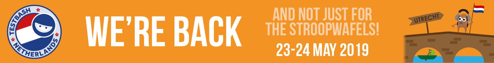 Testbash nl 2019 adverts dojo event banner
