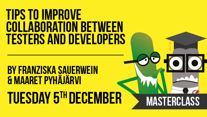 Tips to Improve Collaboration Between Testers and Developers | Franziska Sauerwein & Maaret Pyhäjärvi , starts: 2017-12-05