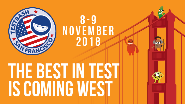 Testbash san francisco 2018 best test west dojo