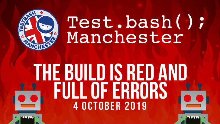Test dot bash manchester 2019 dojo