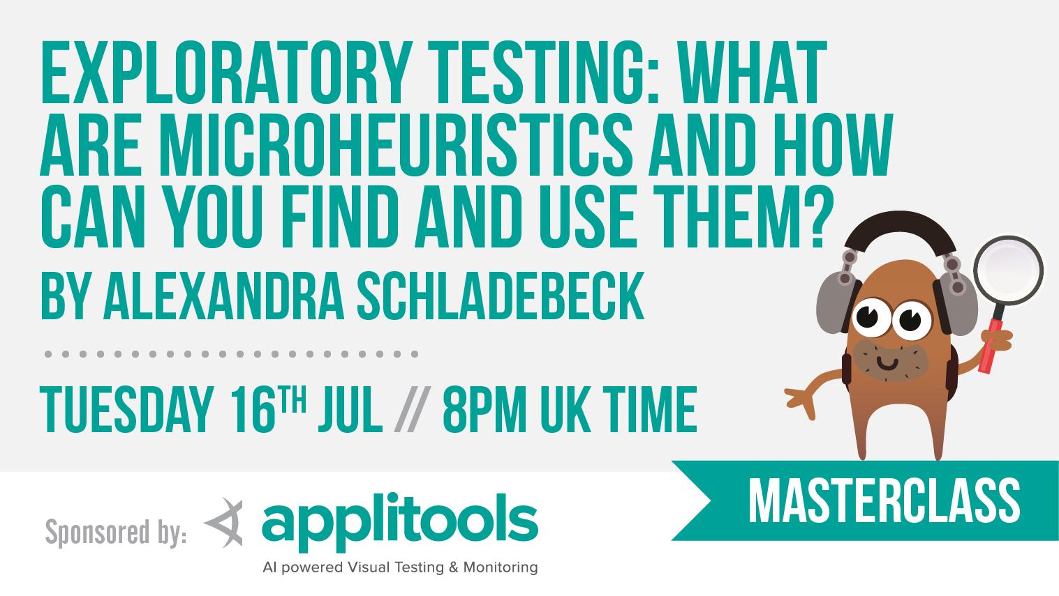 14 alexandra schladebeck masterclass   exploratory testing dojo