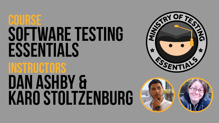 Software Testing Essentials - 3 Day Course - 23rd - 25th March 2020, starts: 2020-03-23