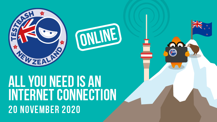 TestBash New Zealand Online 2020, starts: 2020-11-20