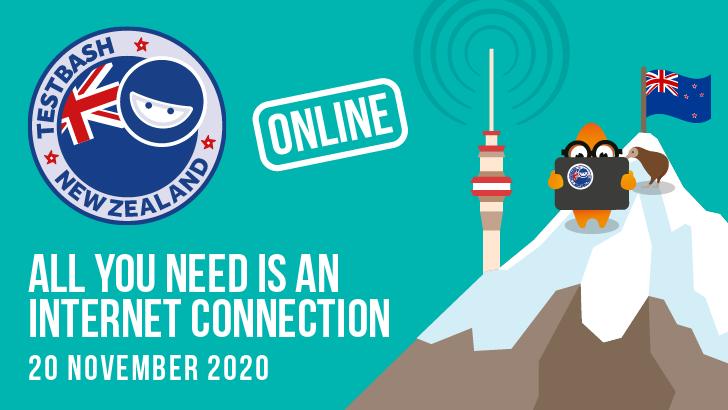 TestBash New Zealand Online 2020, starts: 2020-11-20