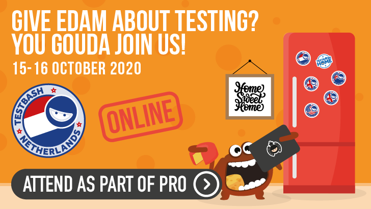 TestBash Netherlands Online 2020 - Conference Day, starts: 2020-10-16