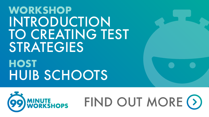 Introduction to creating test strategies - 21 August 2020 (New Zealand Timezone), starts: 2020-08-21