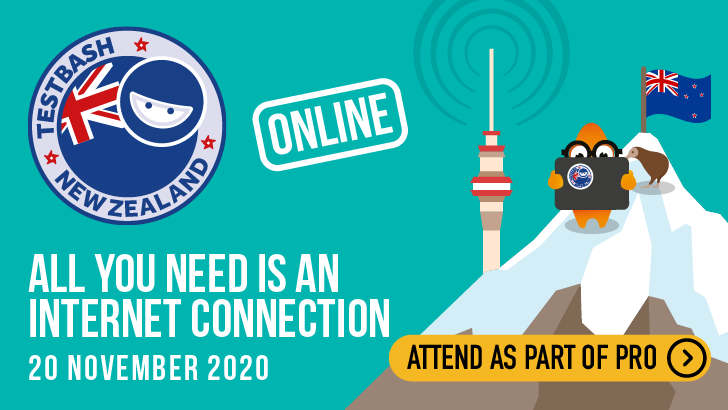 TestBash New Zealand Online 2020, starts: 2020-11-19