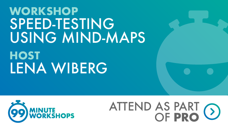 Speed-testing Using Mind-maps, starts: 2021-07-14