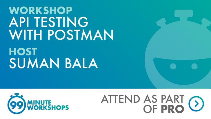 API Testing With Postman, starts: 2021-03-18