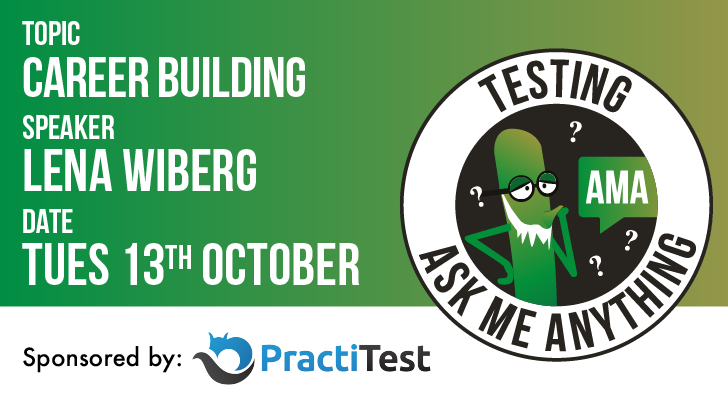 Testing Ask Me Anything - Career Building - Lena Pejgan Wiberg, starts: 2020-10-13