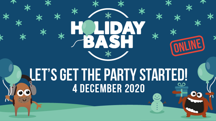 HolidayBash 2020, starts: 2020-12-04
