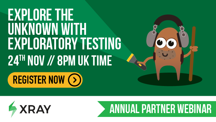 Masterclass: Explore the unknown with exploratory testing, starts: 2020-11-24