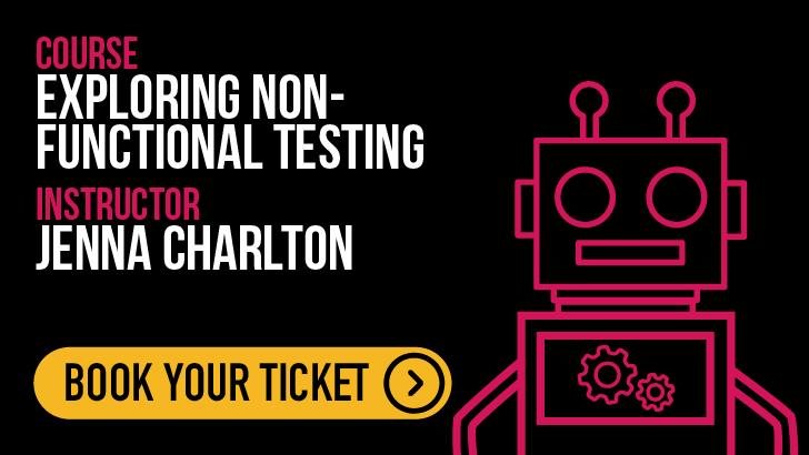 Exploring Non-Functional Testing, starts: 2021-05-20