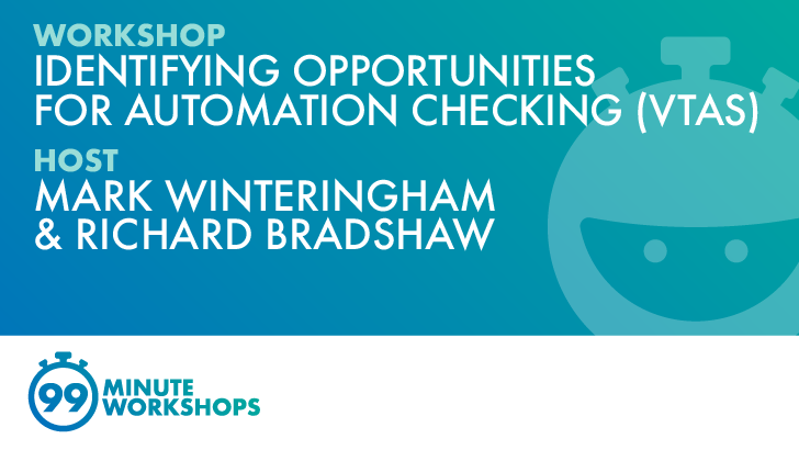 Identifying Opportunities For Automation Checking, starts: 2021-10-26