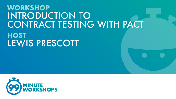 Introduction to Contract Testing with Pact, starts: 2021-11-17