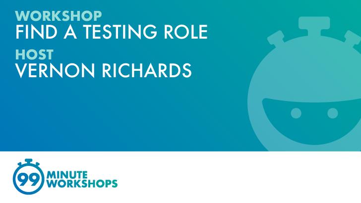 Essentials: Find A Testing Role, starts: 2021-11-18