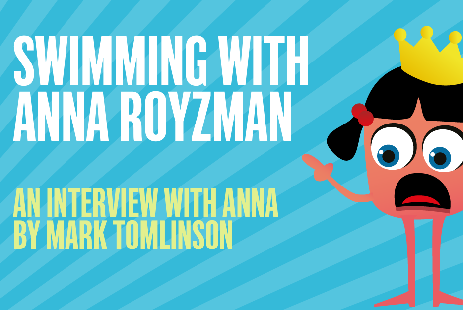 Swimming with Anna Royzman!