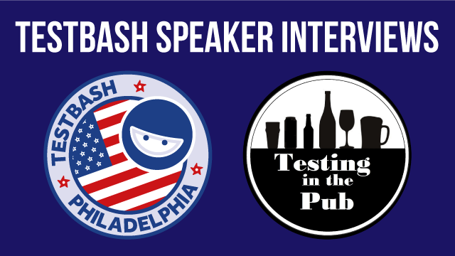 Abby, James and Alan live from Testing In The Pub at TestBash Philadelphia
