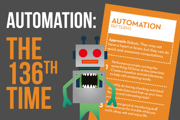 Automation: the 136th time