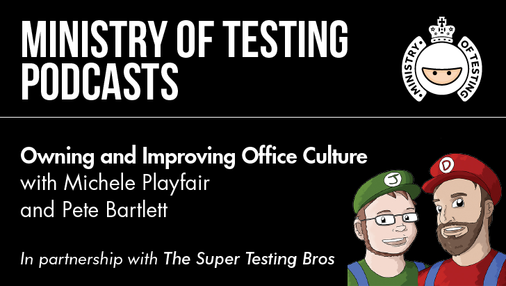 Owning and Improving Office Culture with Michele Playfair and Pete Bartlett
