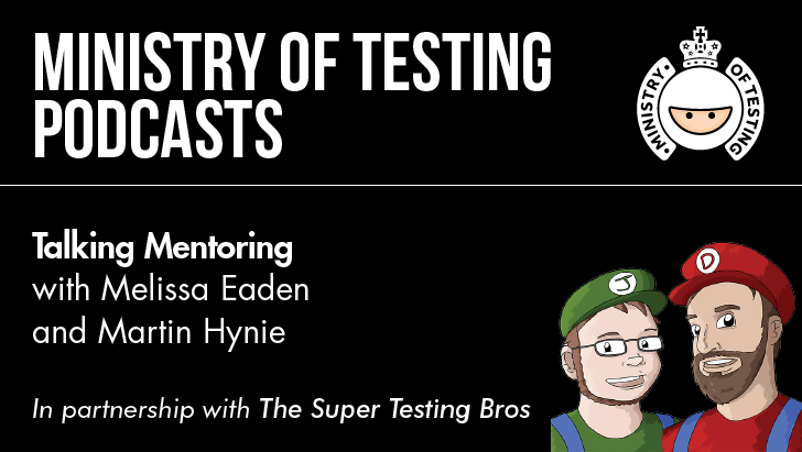 Talking Mentoring with Melissa Eaden and Martin Hynie