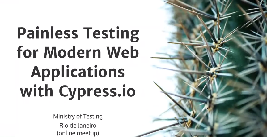 Painless Testing for Modern Web Applications with Cypress.io