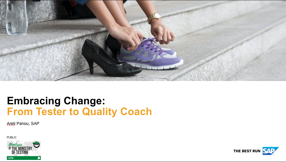 Embracing Change: From Tester to Quality Coach with Areti Panou