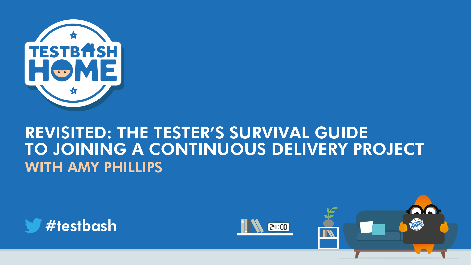 Revisited: The Tester's Survival Guide to Joining a Continuous Delivery Project - Amy Phillips