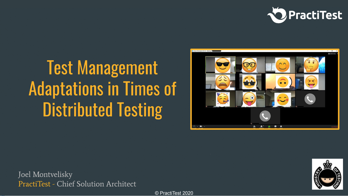 Test Management adaptations in times of Distributed Testing with Joel Montvelisky