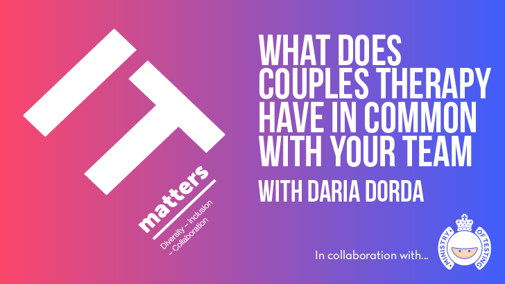 What Does Couples Therapy Have in Common With Your Team