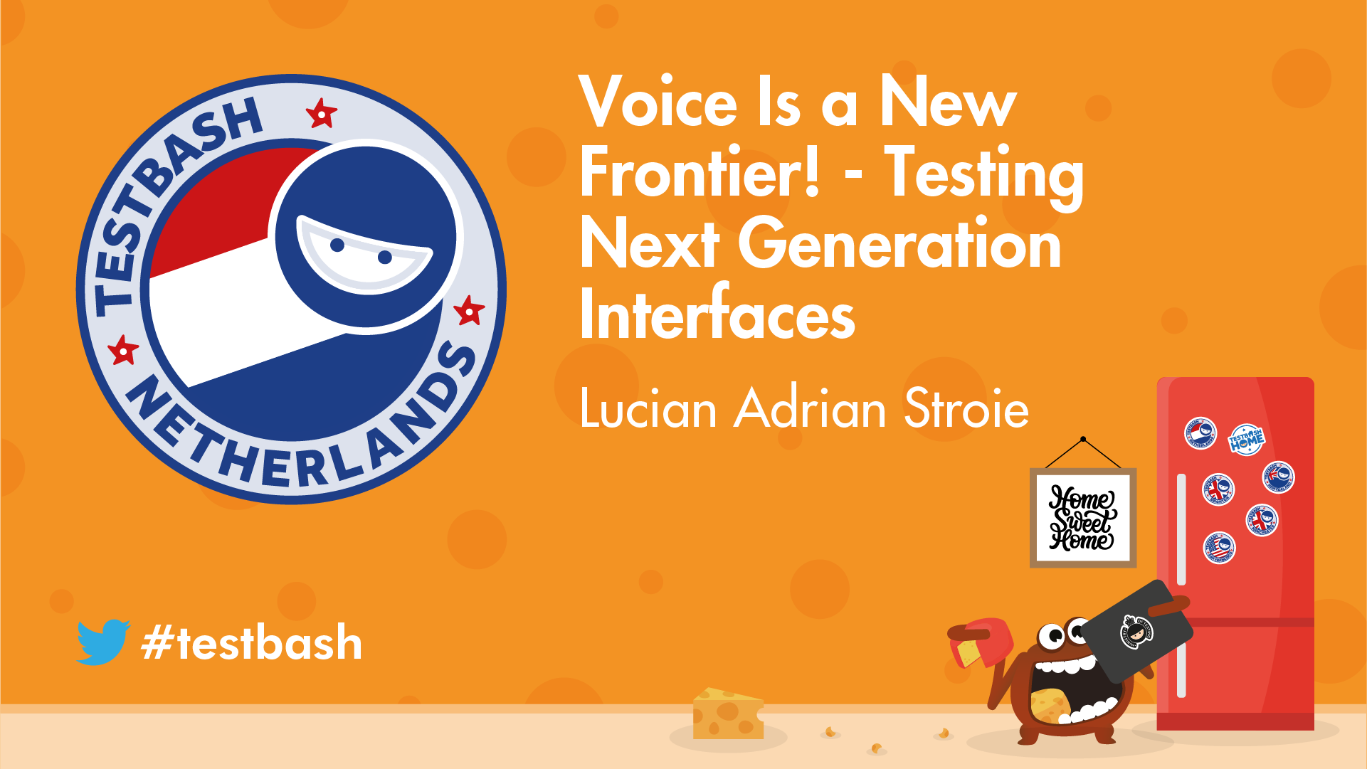 Voice Is a New Frontier! Testing next Generation Interfaces - Lucian Adrian Stroie