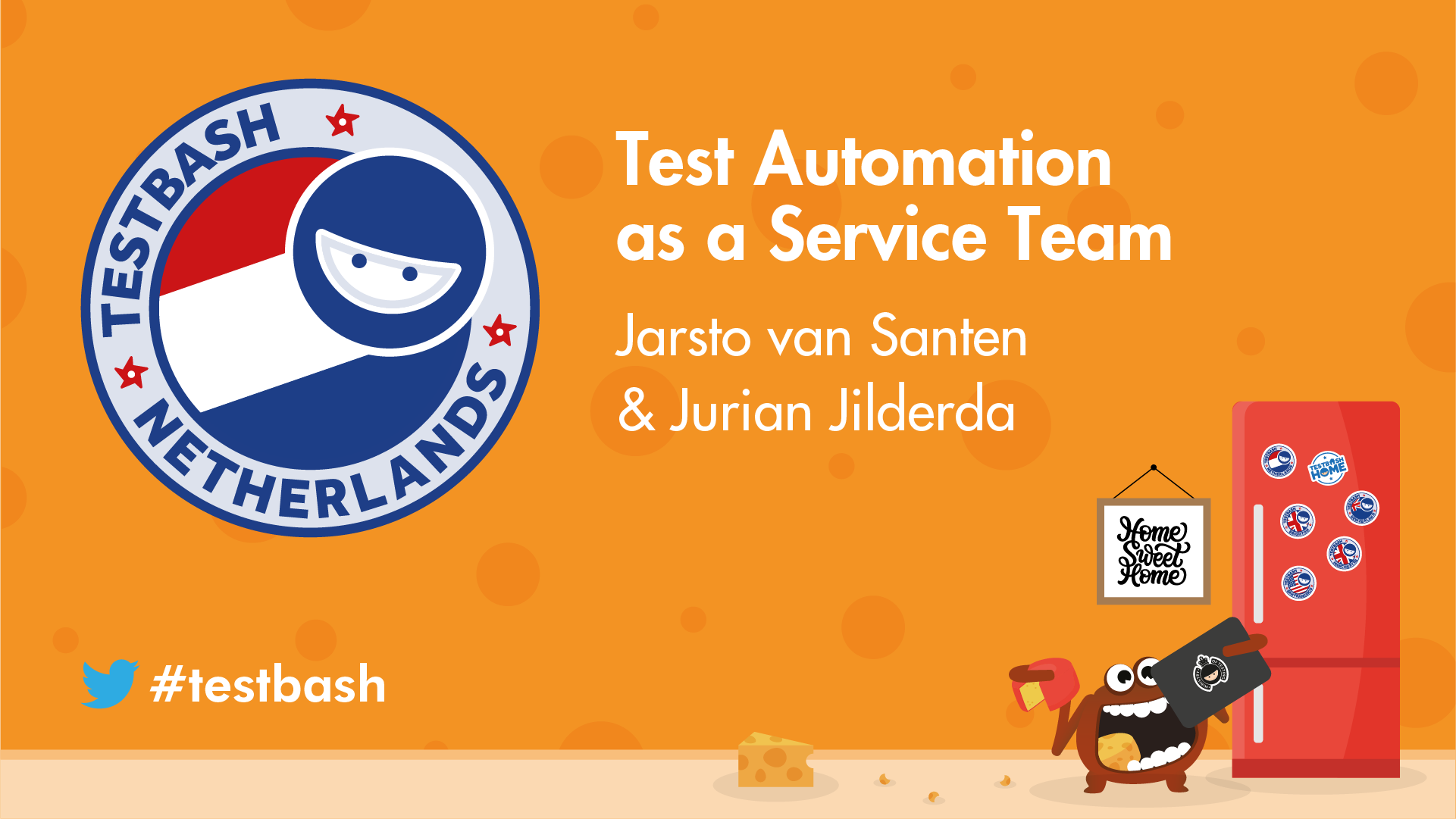 Test Automation as a Service Team - Jurian Jilderda & Jarsto van Santen
