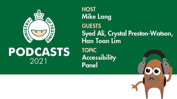 MoT Podcast - Accessibility Panel
