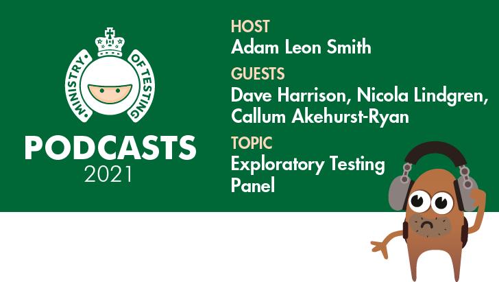 MoT Podcast - Exploratory Testing Panel