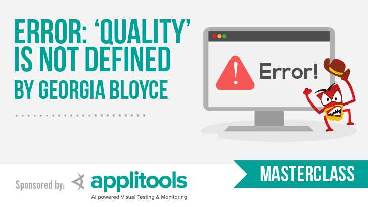 Error: 'Quality' is Not Defined