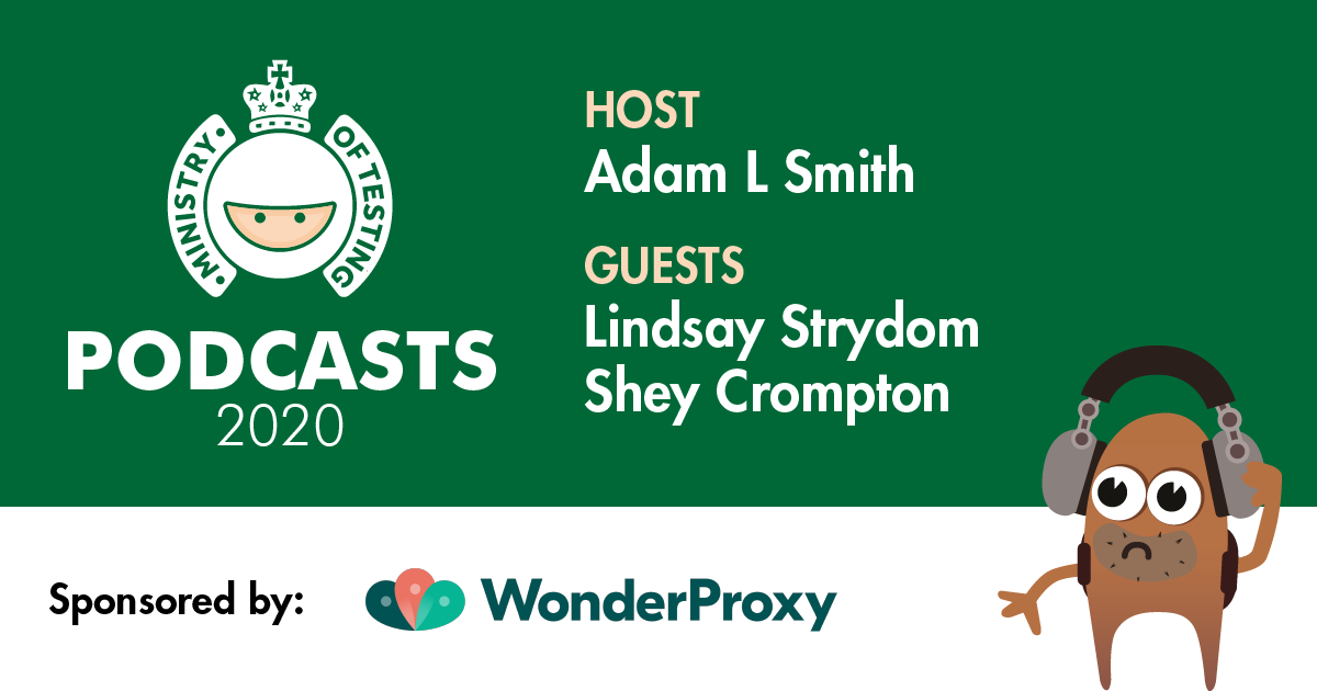 MoT Podcast - Adam Meets Lindsay Strydom & Shey Crompton