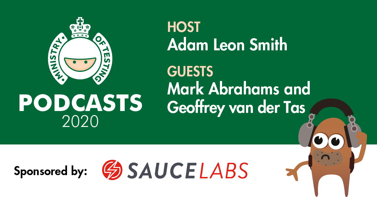 MoT Podcast - Adam Meets Mark Abrahams and Geoffrey van der Tas