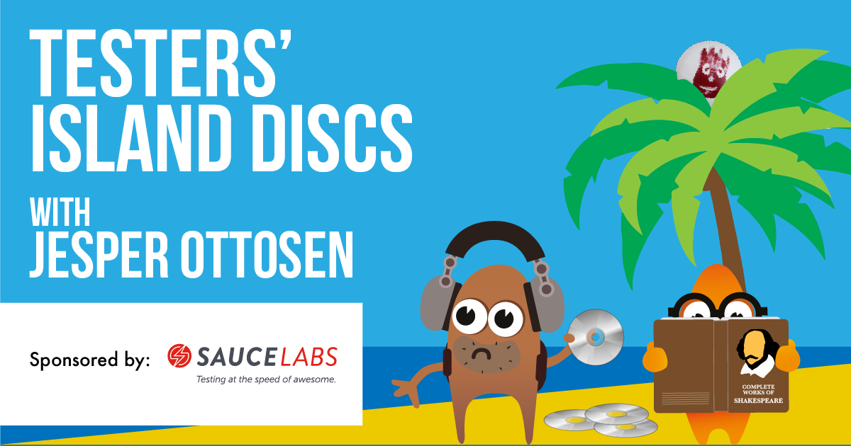 Testers' Island Discs Ep36 - Jesper Ottosen