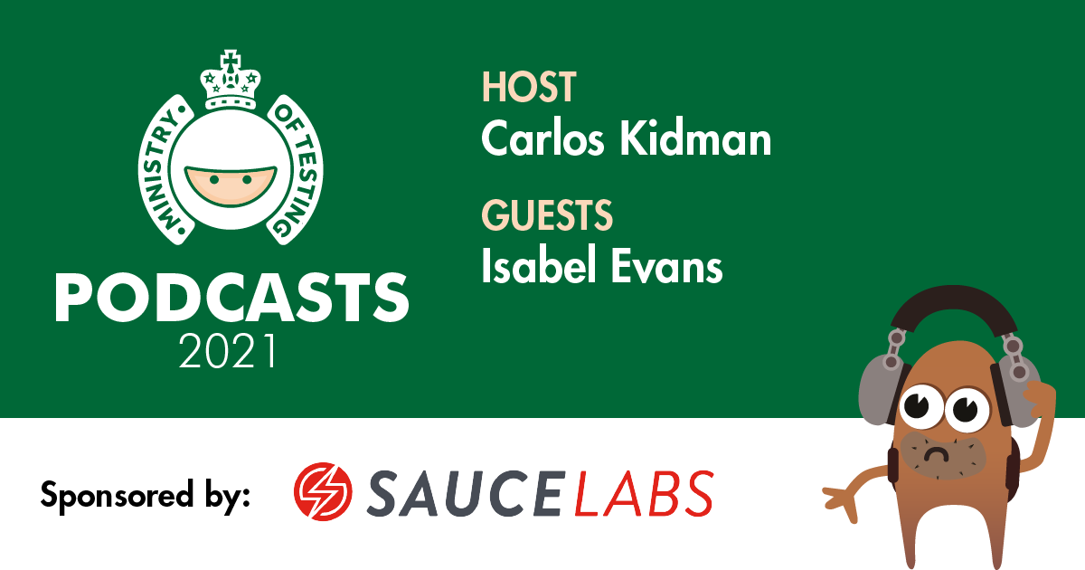 MoT Podcast - Carlos Meets Isabel Evans