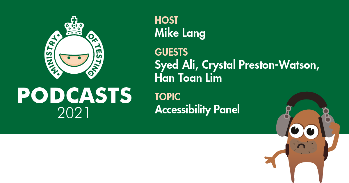 MoT Podcast - Accessibility Panel