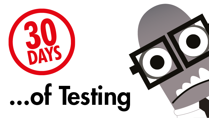 30 Days of Testing