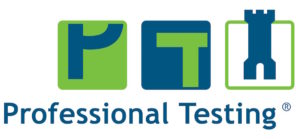 Logo professional testing b.v 300x139