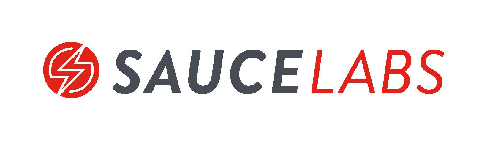 Sauce labs logo horizontal